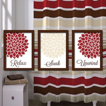 Red and Brown Wall Decor Awesome 1000 Images About Red and Brown Living Room On Pinterest