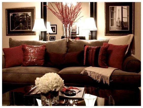 Red and Brown Wall Decor Best Of 33 Red and Brown Living Room Ideas Brown and Red Living Room Cbrnresourcenetwork