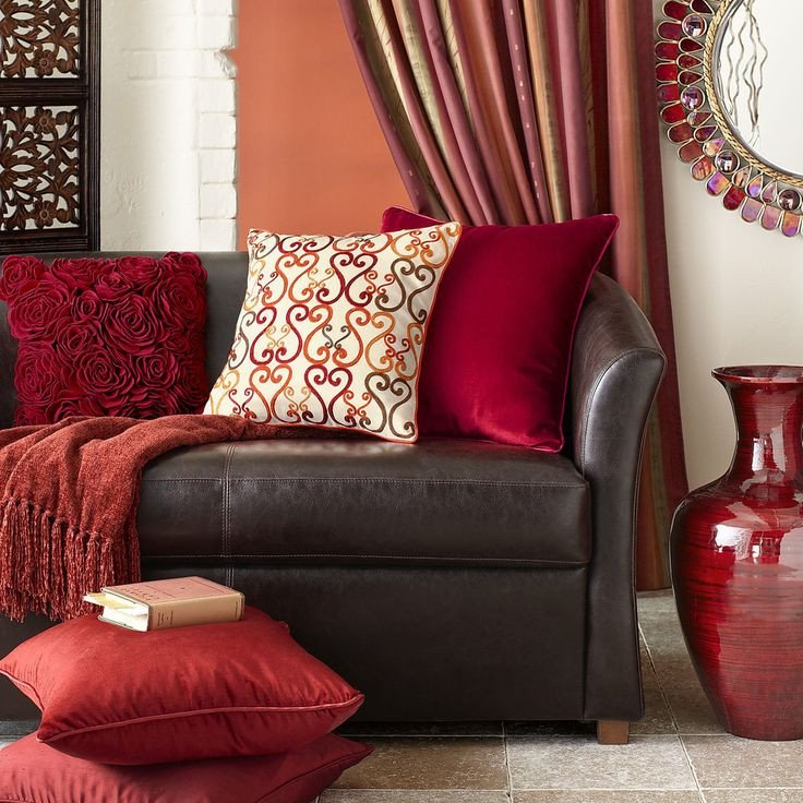 Red and Brown Wall Decor Elegant 244 Best Red and Brown Living Room Images On Pinterest