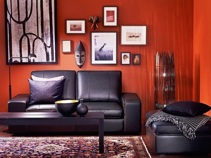 Red and Brown Wall Decor Luxury 20 Colors that Jive Well with Red Rooms