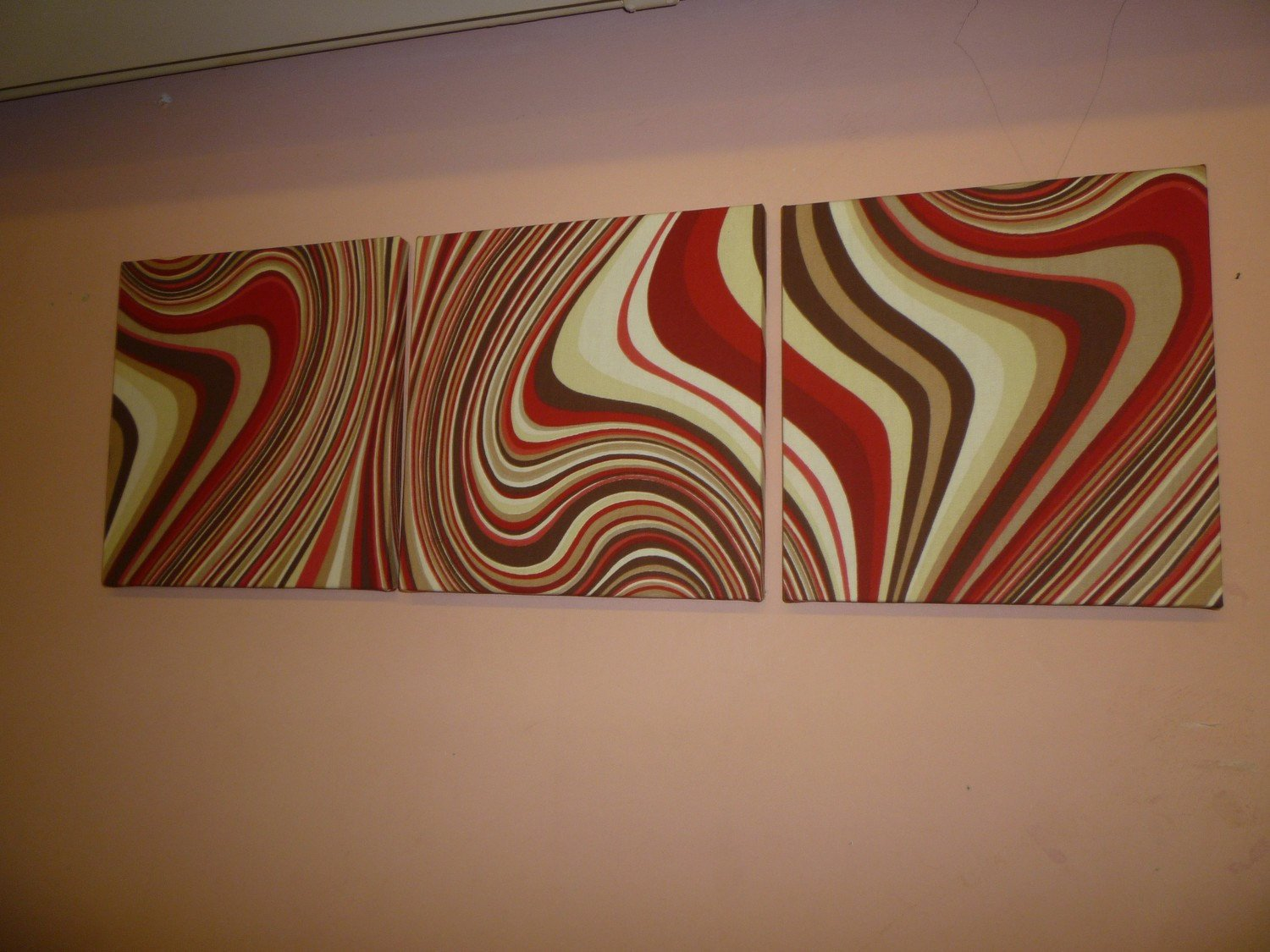 Red and Brown Wall Decor Luxury Unavailable Listing On Etsy