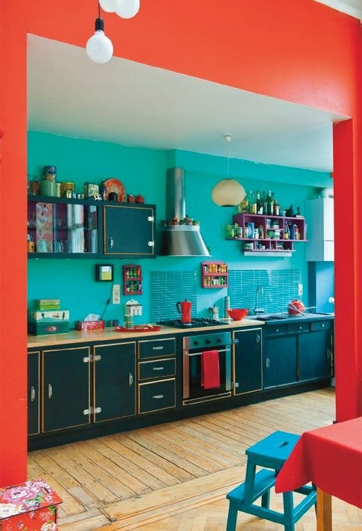 Red and Teal Kitchen Decor Awesome Teal and Red Decor Ideas — Eatwell101