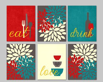 Red and Teal Kitchen Decor Inspirational Teal Kitchen Decor