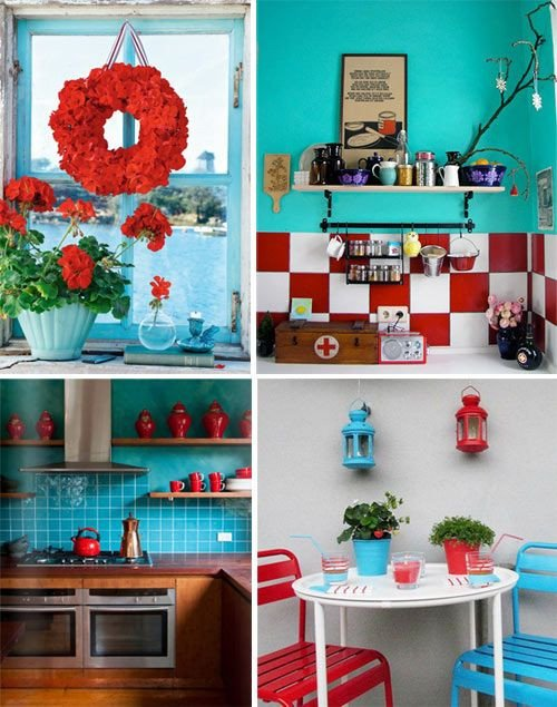 Red and Teal Kitchen Decor Lovely Best 25 Aqua Kitchen Ideas On Pinterest
