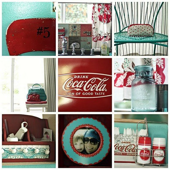 Red and Teal Kitchen Decor Lovely Red and Teal Kitchen