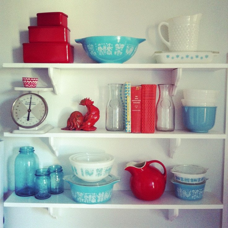 Red and Teal Kitchen Decor New My Kitchen is Drooling From Parsimonia Secondhand with Style