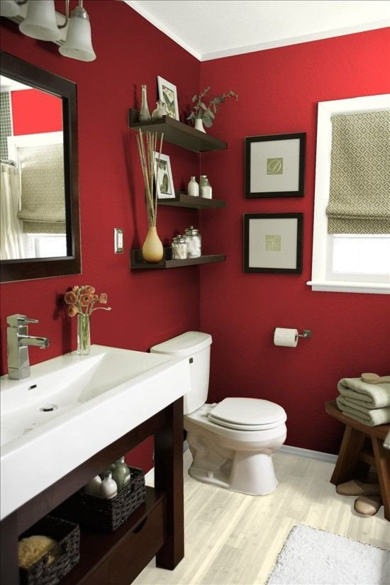 Red and White Bathroom Decor Awesome Best 10 Red Bathroom Decor Ideas On Pinterest