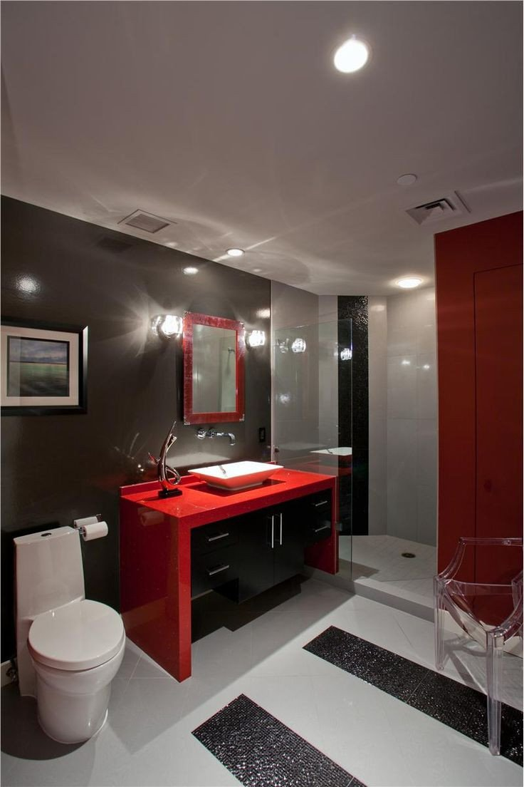 Red and White Bathroom Decor Best Of top Bathroom Colour Ideas Kaodim