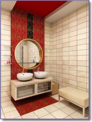 Red and White Bathroom Decor Unique Red Bathroom Design and Decor Inspiration