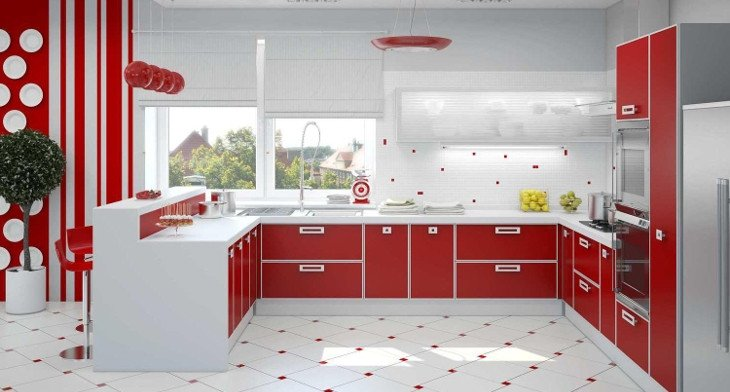 Red and White Kitchen Decor Best Of 18 Red and White Kitchen Designs Ideas