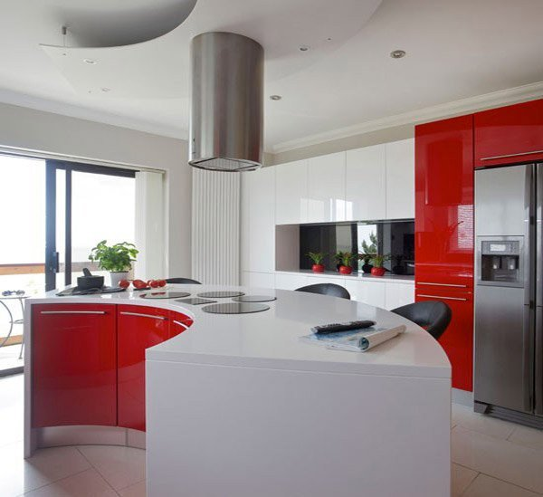 Red and White Kitchen Decor Elegant 15 Extremely Hot Red Kitchen Cabinets