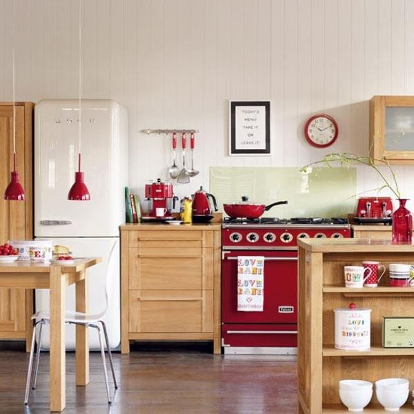 Red and White Kitchen Decor Elegant 25 Stunning Red Kitchen Design and Decorating Ideas