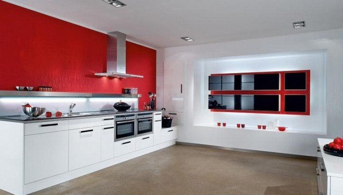 Red and White Kitchen Decor Fresh Interior Exterior Plan