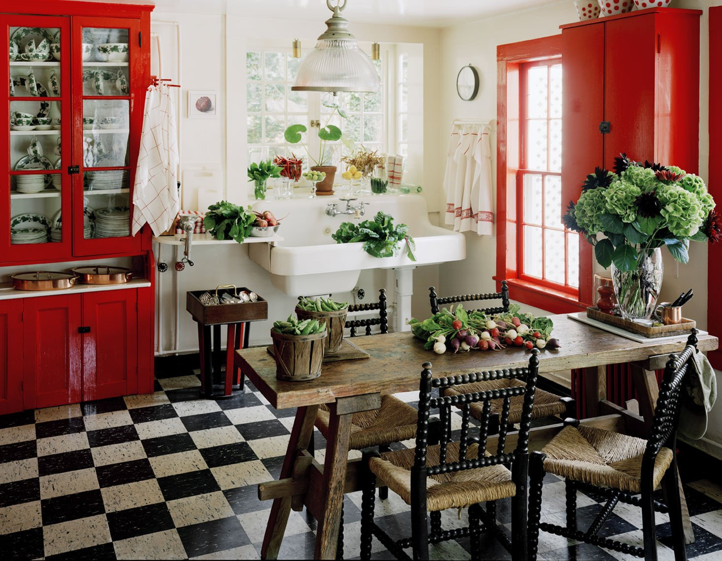 Red and White Kitchen Decor Lovely Red Country Kitchen – Best Design for Big Small Kitchen
