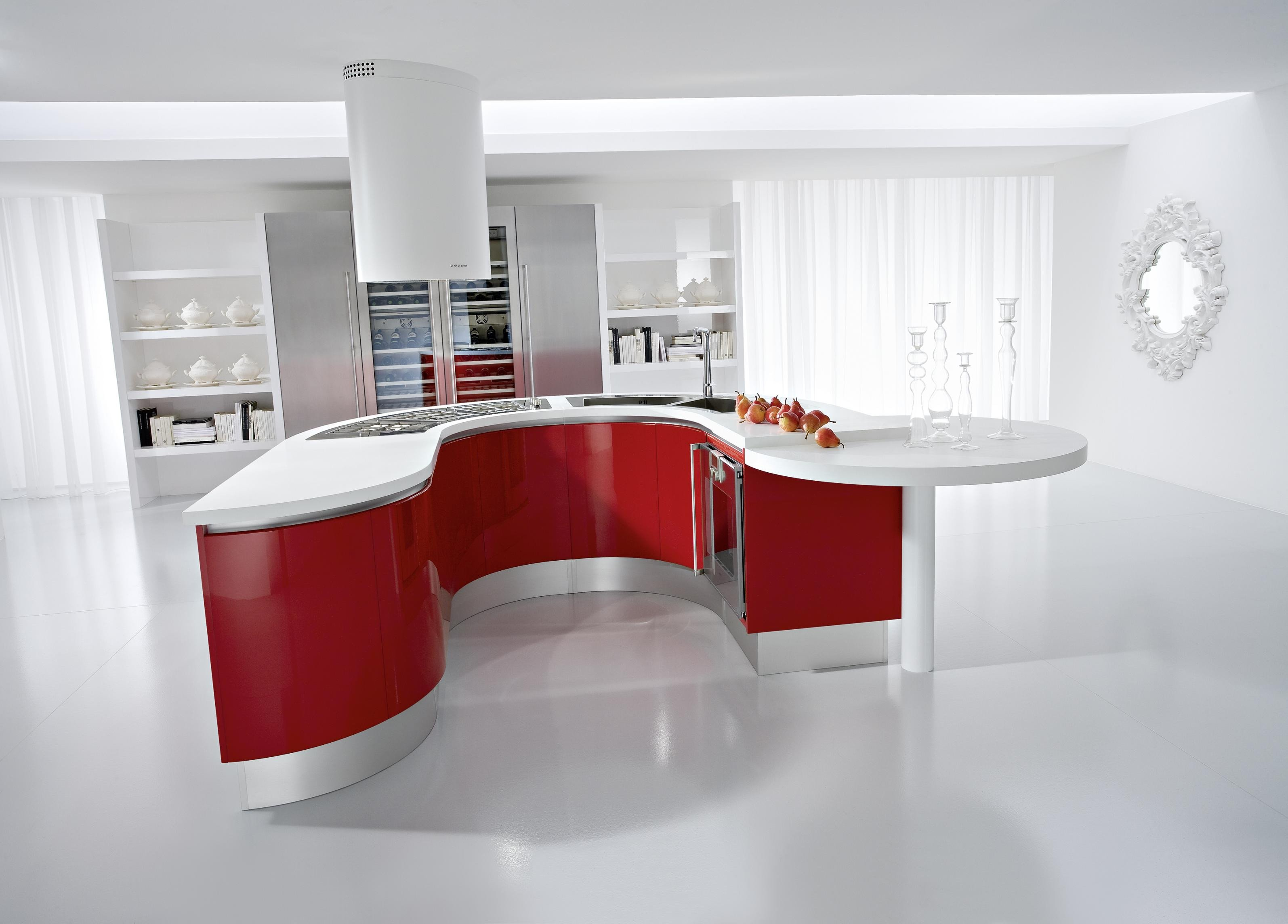Red and White Kitchen Decor Luxury Red Kitchens
