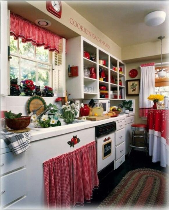 Red and White Kitchen Decor New 1000 Images About Red Gingham Kitchen On Pinterest
