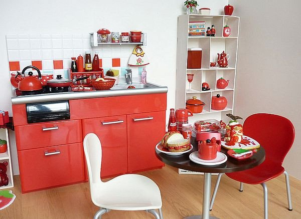 Red and White Kitchen Decor New Red Kitchen Design Ideas and Inspiration