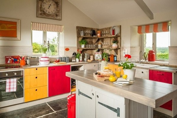 Red and Yellow Kitchen Decor Awesome are Red and Yellow Kitchens Conducive to Cooking