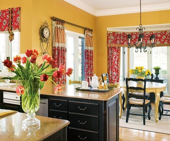 Red and Yellow Kitchen Decor Beautiful No Fail Kitchen Color Binations