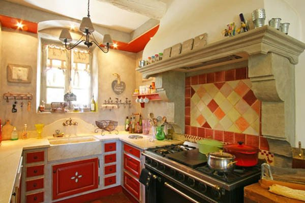 Red and Yellow Kitchen Decor Elegant French Country Home Decorating Ideas From Provence