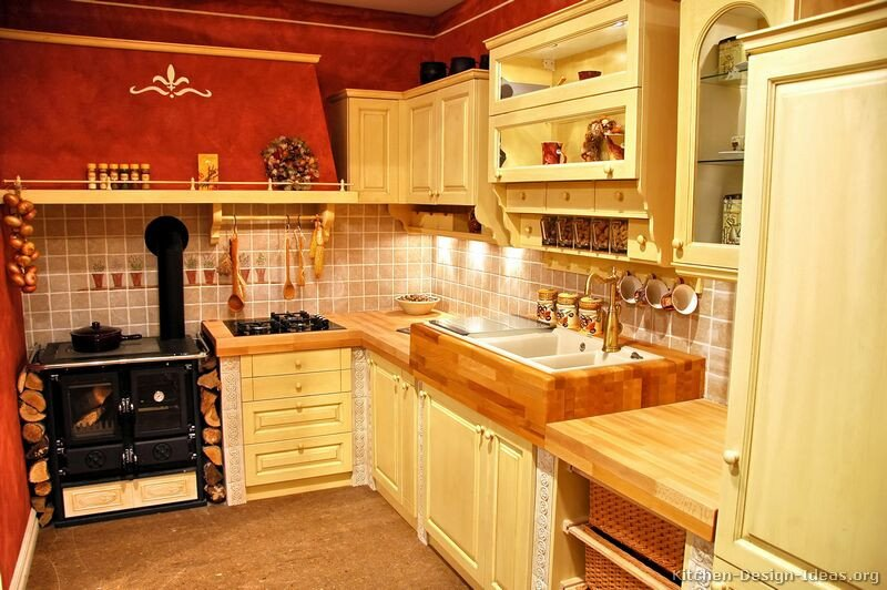 Red and Yellow Kitchen Decor Elegant French Country Kitchens Gallery and Design Ideas