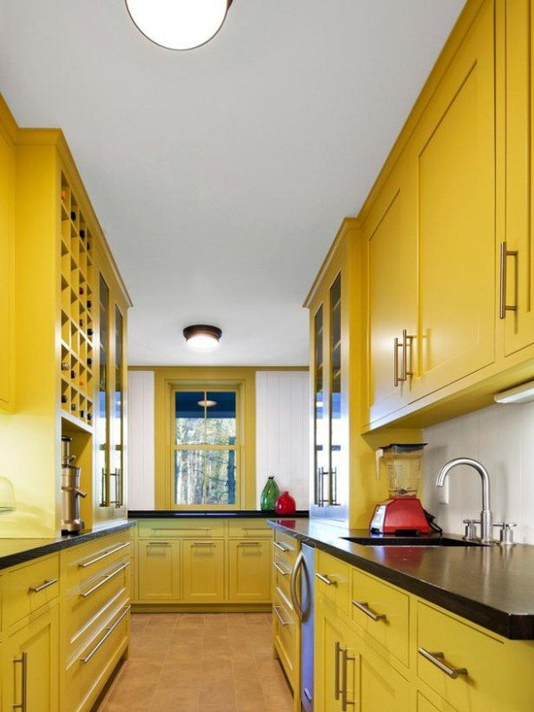 Red and Yellow Kitchen Decor Fresh Beautifully Colorful Painted Kitchen Cabinets