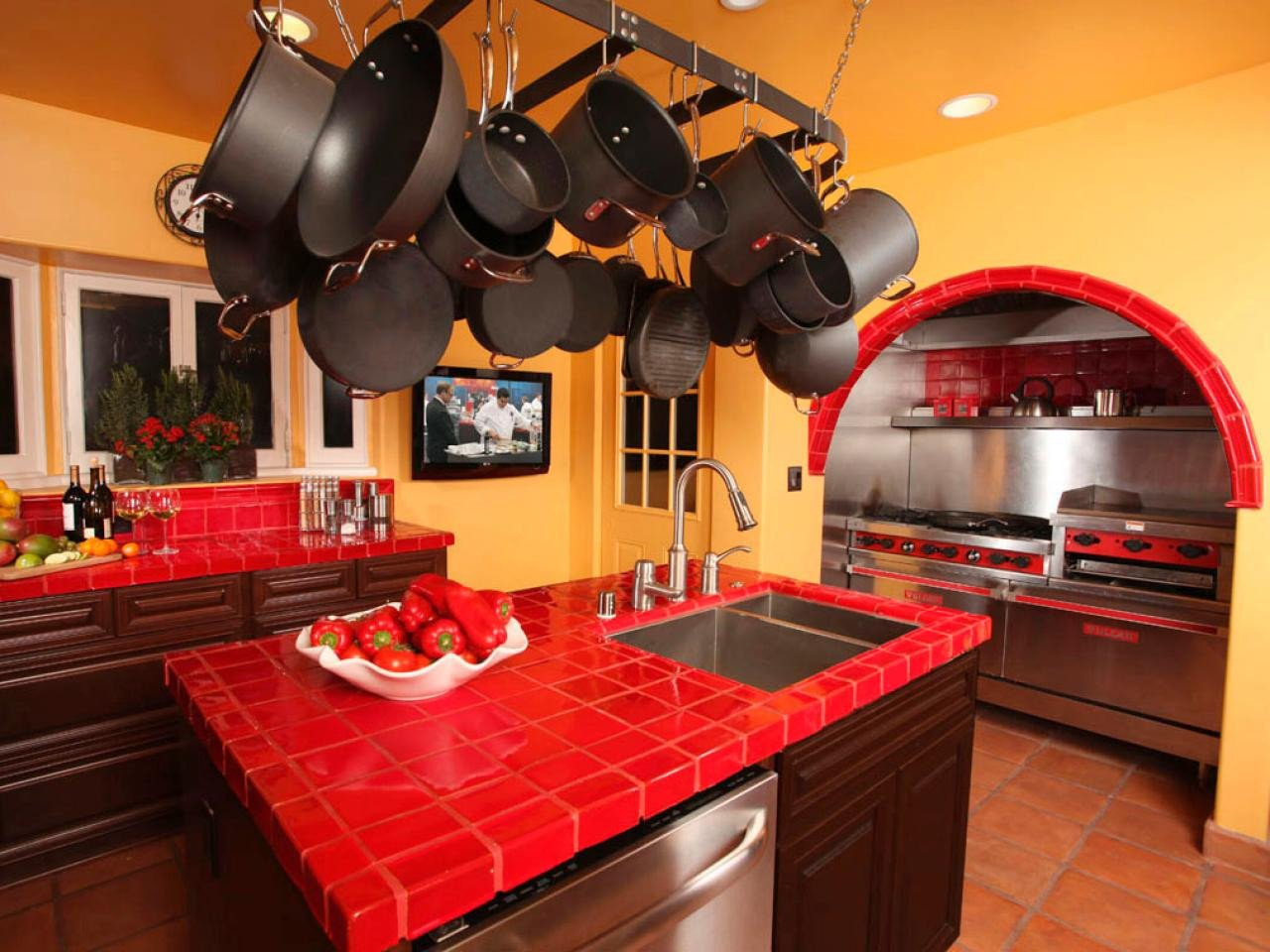 Red and Yellow Kitchen Decor Fresh Victorian Kitchens Kitchen Designs Choose Kitchen Layouts & Remodeling Materials