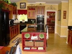 Red and Yellow Kitchen Decor Inspirational 1000 Images About Red and Yellow Kitchen On Pinterest