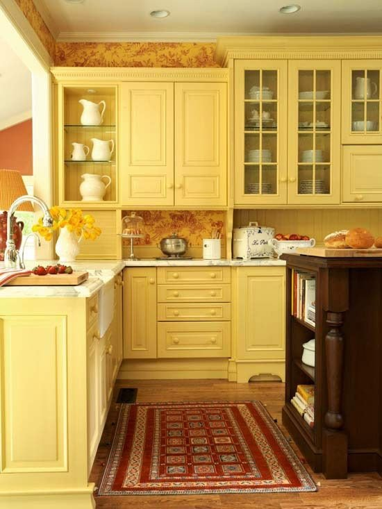 Red and Yellow Kitchen Decor Lovely Red and Yellow Kitchen French Country