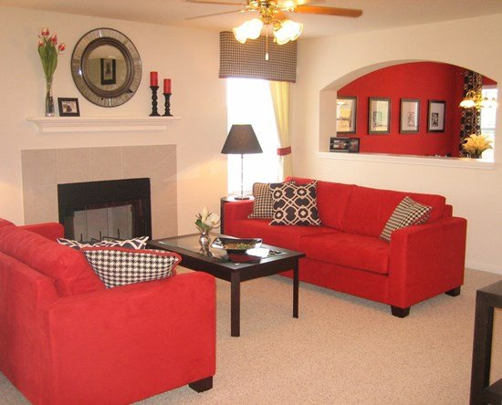 Red Couch Living Room Decor Awesome 51 Red Living Room Ideas