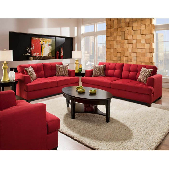 Red Couch Living Room Decor Awesome Couch Arrangement Love the Red Couch Living Room Love Pinterest