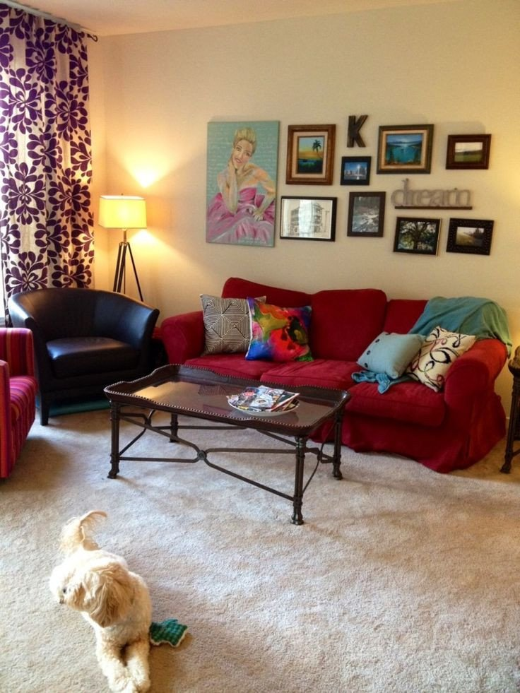 Red Couch Living Room Decor Inspirational 14 Best Red Couch Decorating Ideas Images On Pinterest