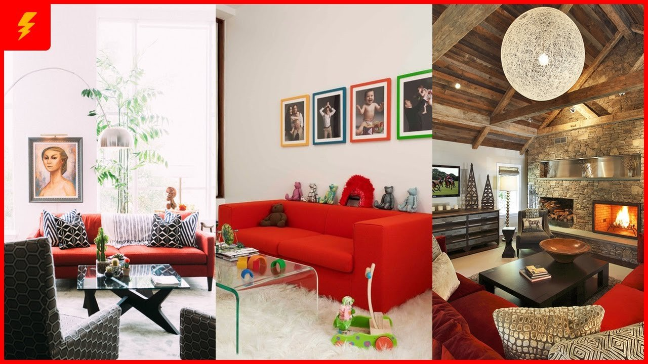 Red Couch Living Room Decor Lovely 18 Stunning Red sofa Living Room Design and Decor Ideas