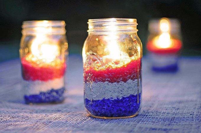 Red White and Blue Decor Awesome Easy Diy Red White and Blue Party Decoration