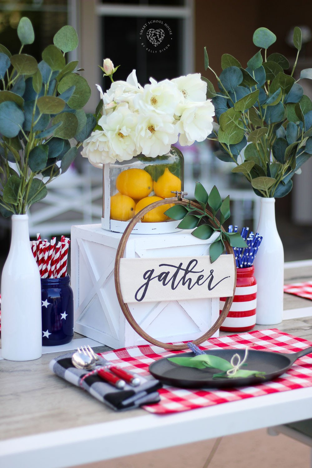 Red White and Blue Decor Best Of Beautiful Red White and Blue Table Decorations for July 4th