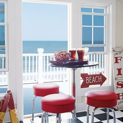 Red White and Blue Decor Elegant Coastal Colors Red White & Blue Coastal Living