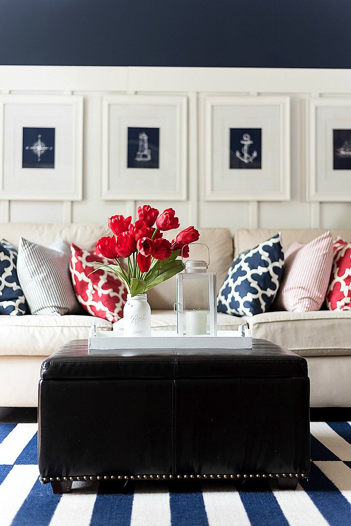 Red White and Blue Decor Fresh Red White Blue Americana Summer Decor It All Started with Paint