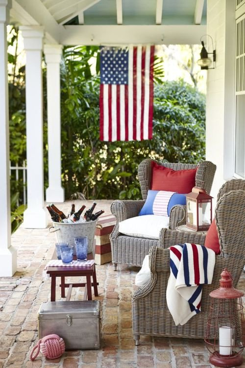 Red White and Blue Decor Luxury Decorate for the 4th Of July
