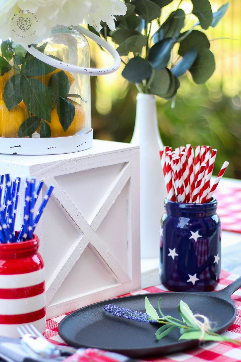 Red White and Blue Decor Unique Beautiful Red White and Blue Table Decorations for July 4th