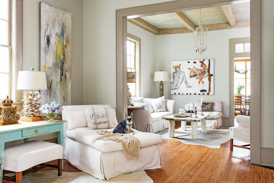 Relaxed Living Room Decorating Ideas Inspirational Layer Neutrals for A Relaxed Look 106 Living Room Decorating Ideas southern Living
