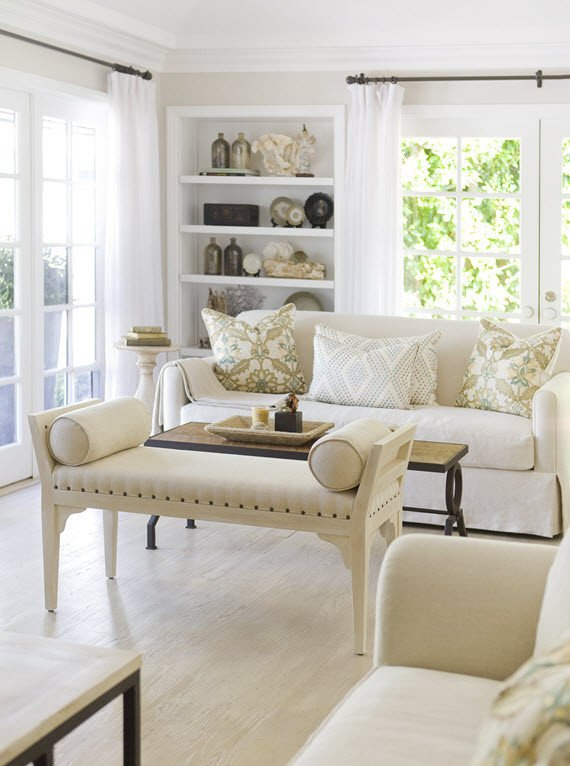 Relaxed Living Room Decorating Ideas New Beautiful southern California Home tour Simplified Bee