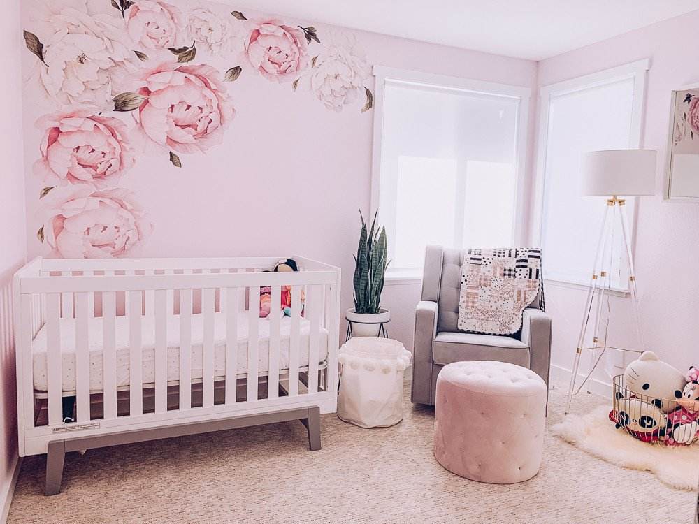 Room Decor for Baby Girl Awesome Girly Pink Nursery Decor I Am Style ish