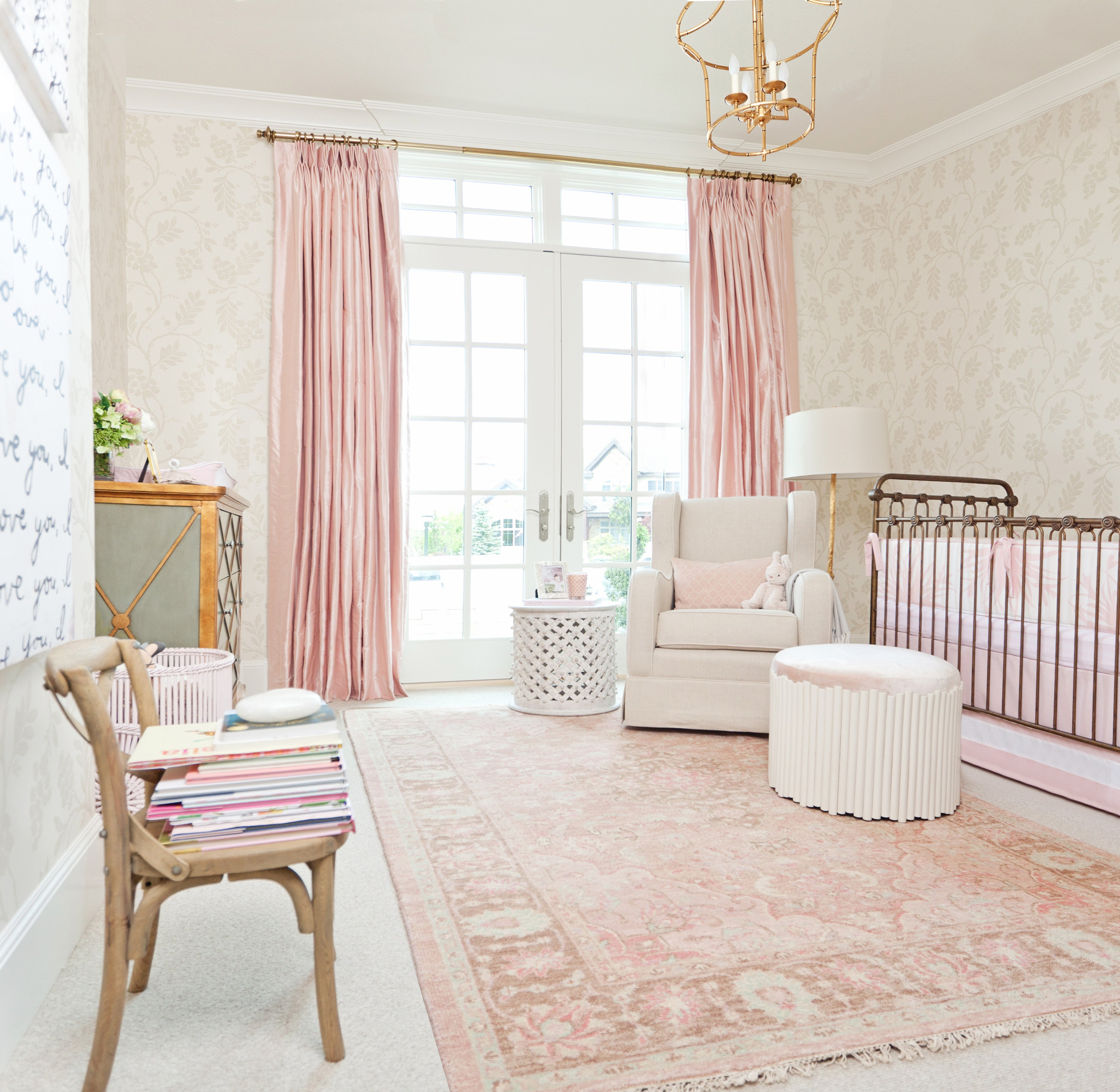 Room Decor for Baby Girl Beautiful A Pink Nursery for Pink Peonies Project Nursery