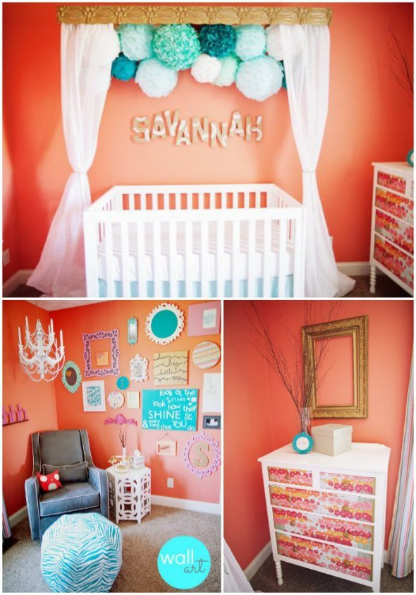 Room Decor for Baby Girl New Baby Nursery Ideas for Girls