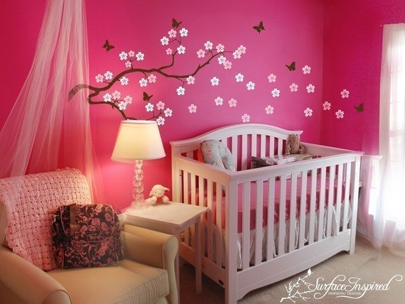 Room Decor for Baby Girls Awesome Cute Baby Girl Nursery Ideas