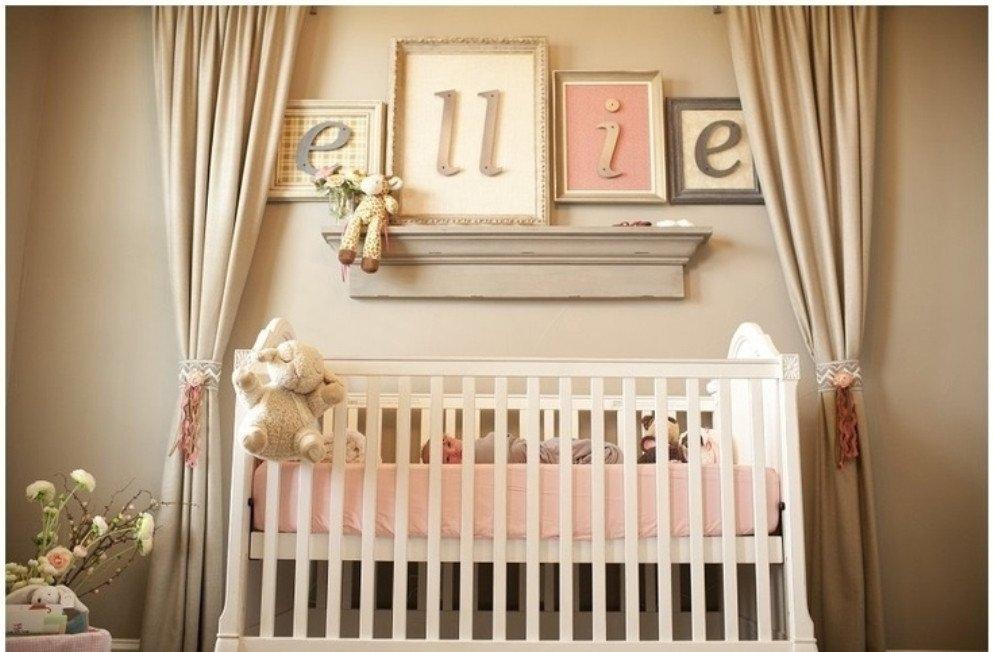 Room Decor for Baby Girls Lovely Baby Girl Room Decor Ideas