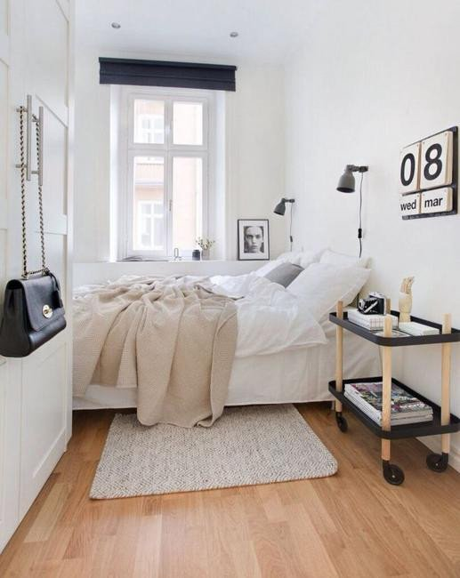 Narrow or Small Rooms Bedroom Design Ideas