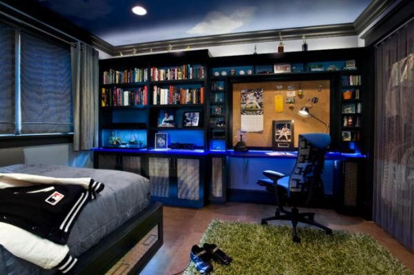 Room Decor for Teenage Guys Elegant 40 Teenage Boys Room Designs We Love