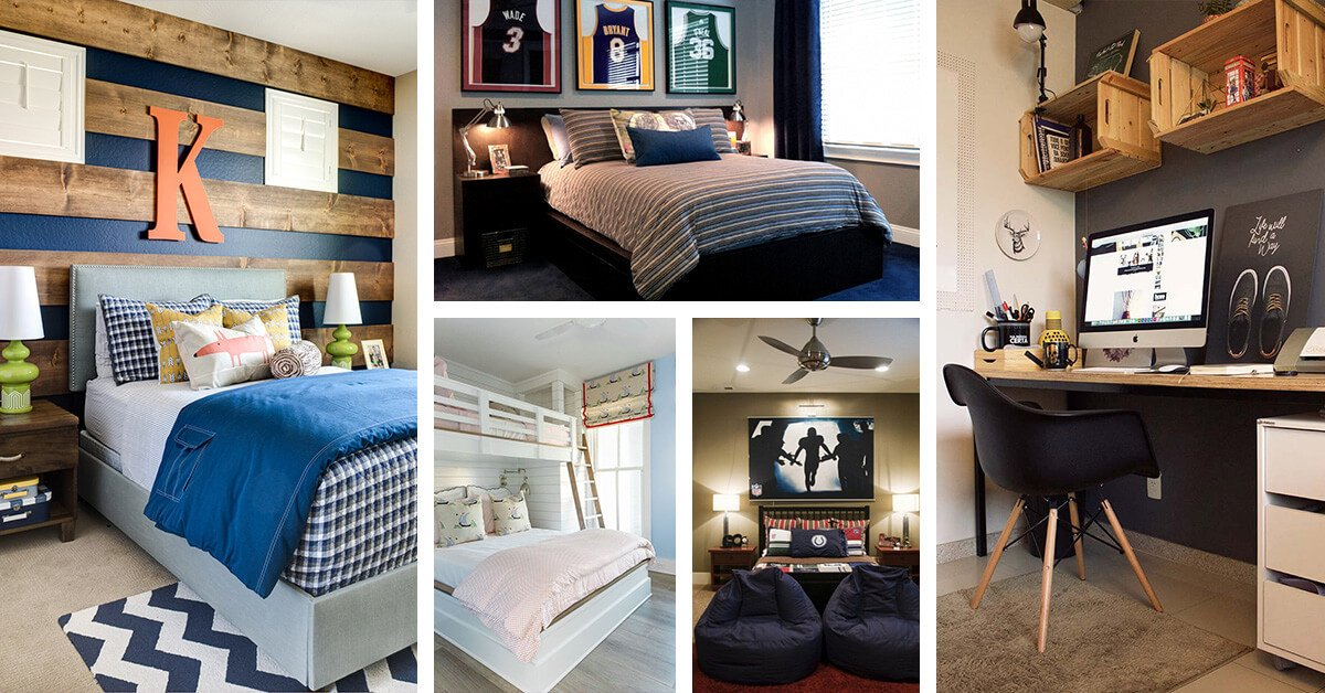 Room Decor for Teenage Guys New 33 Best Teenage Boy Room Decor Ideas and Designs for 2019