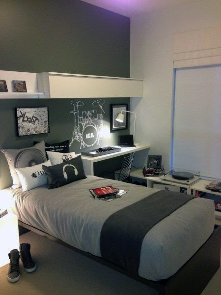 Room Decor for Teenage Guys New top 70 Best Teen Boy Bedroom Ideas Cool Designs for Teenagers
